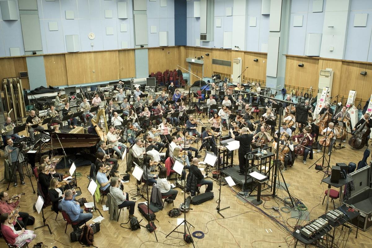 gravação orquestra