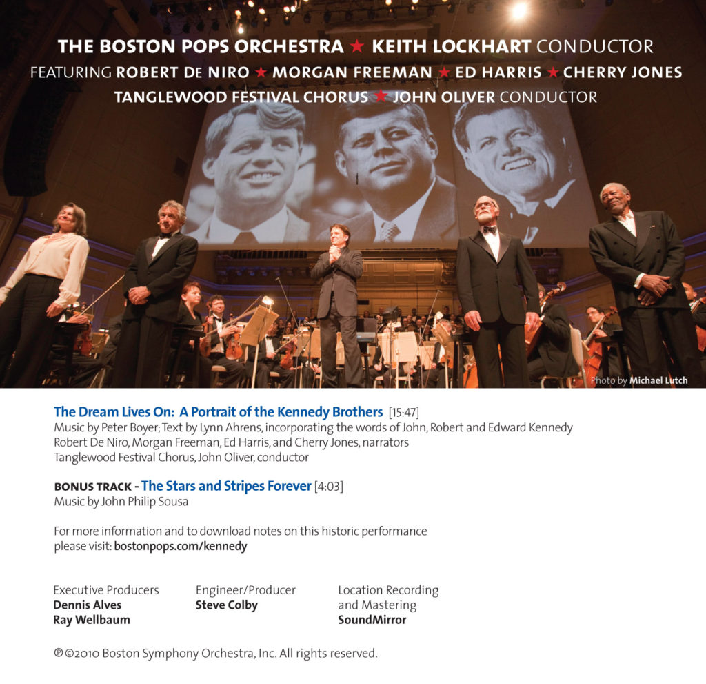 Boston Pops Kennedys CD-B-back