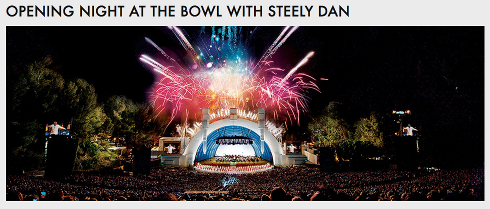 Opening Night at the Bowl with Steely Dan