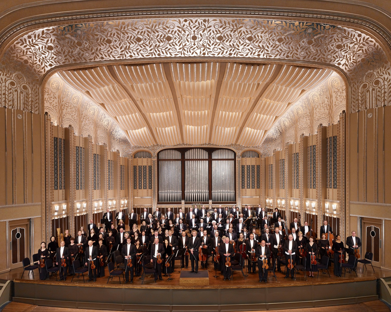 the cleveland orchestra to perform boyer's silver fanfare at